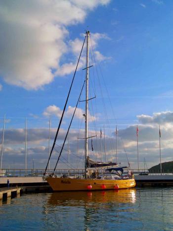 yacht design: Malaika